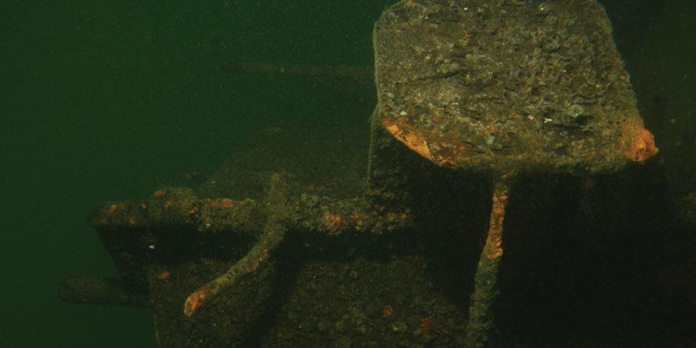 Wrak Archimedes Baardmannetje